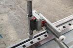 Absteckvorrichtung Trennschleifmaschine Nasstrennschleifmaschine Profilschiene